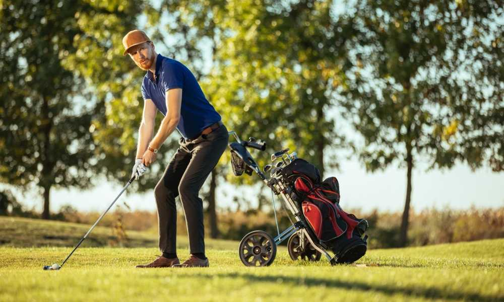 CaddyTek EZ-Fold 3 Wheel Golf Push Cart Review